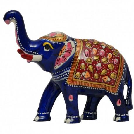 Metal Enamel Elephant