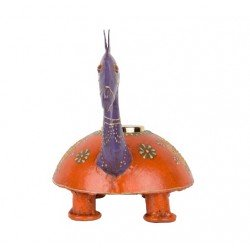Painted Camel Shape T Light Holder