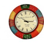 Handcrafted Painted Vintage Clock