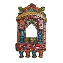 Wooden Jharoka Key Holder