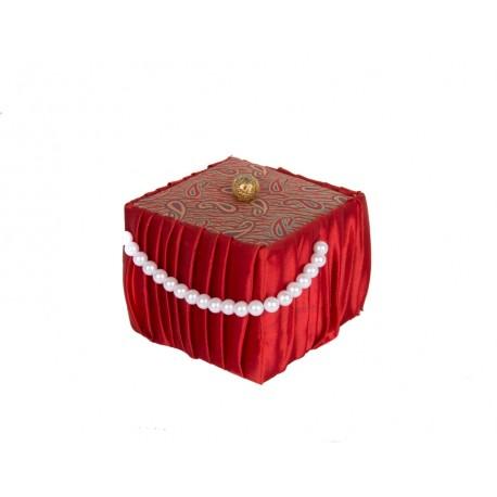 Handmade Gift Box with Pearls