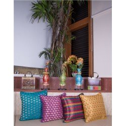 Set of Four Brocade Cushion Cover