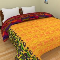 Rajasthani Special Yellow Single Razai