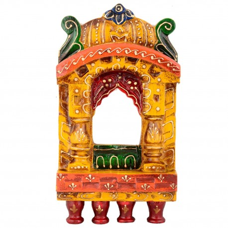 Wooden Painted Jharoka