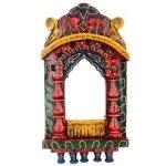 Wooden Painted Jharoka