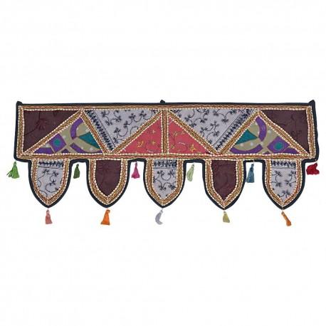 Rajasthani Mirror Work Door Hanging Toran