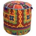 Colourful Embroidried Mudda Stool