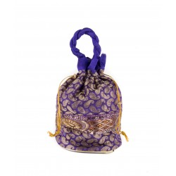 Purple Potli Bag
