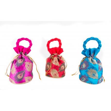 Set of Three Ethnic Potli Bag