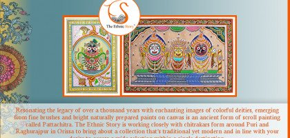 Pattachitra- Revival of an ancient art form to suit modern home decor