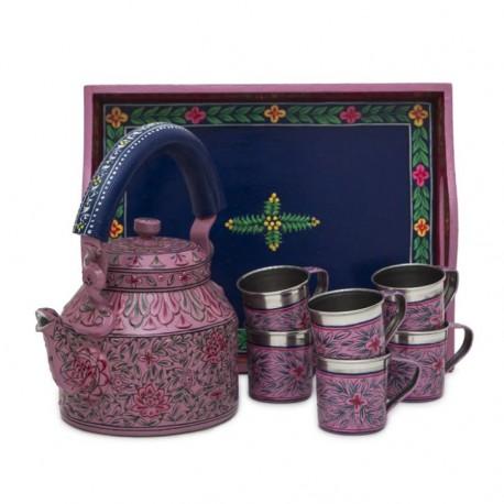 KAUSHALAM TEA SET : MUGHAL GARDEN