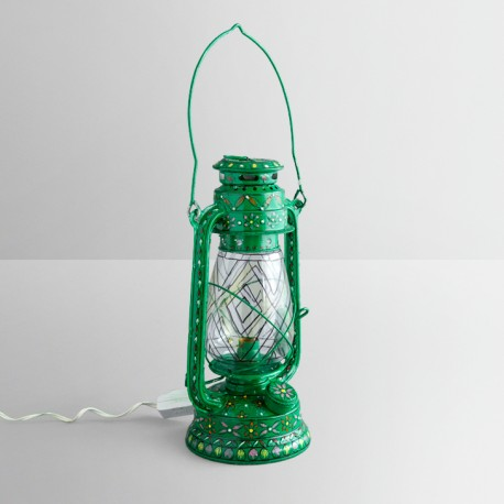 BULB PAINTED LANTERN LARGE