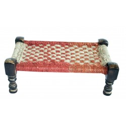 Miniature Wooden Decorative Charpai Cot