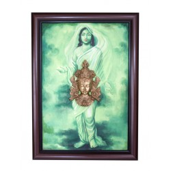 Nepali Goddess Canvas Painting