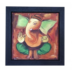 Ganesha Painting on Canvas