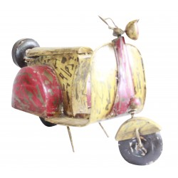 Decorative Metal Antique Scooter Showpiece Miniature