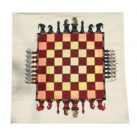 Handmade Cloth Chess Board Game