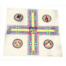 Pagade Pacheesi Traditional Indian Board Game