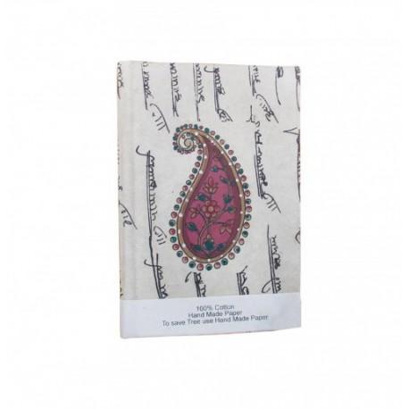 Handmade Floral Painting Ethnic Handmade Diary