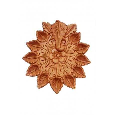 Ganesha Shape Traditional Clay Diya Diwali Diya