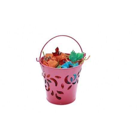 Metal Bucket With Homemade Chocolates Diwali Gift Hamper Diwali Gift
