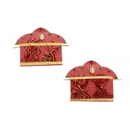 Handmade Palki Design Set of Two Money Envelope
