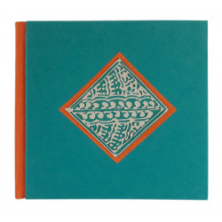 Handmade Paper Diary Eco Friendly 100 % Cotton Orange Diary Notebook