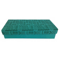 Decorative Handmade Paper Rectangular Jewellery Box/ Storage Box/ Gift Box