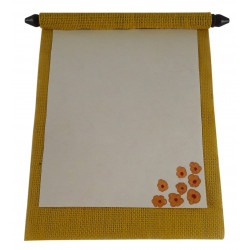 Jute Handmade Message Scroll Greeting Traditional Message Scroll Blank Scroll