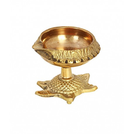 Brass Tortoise Kuber Diya