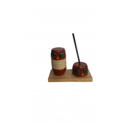 Wooden Desk Accessory Pen Holder Channapatna Craft