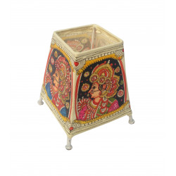 """The Ethnic Story Leather Puppetry Lamp Shade 5"""""""