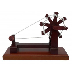 Wooden Handcrafted Decorative Gandhi Charkha Miniature Showpiece Souvenir
