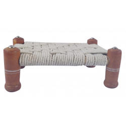 Decorative Wooden Miniature Khaat/ Charpai