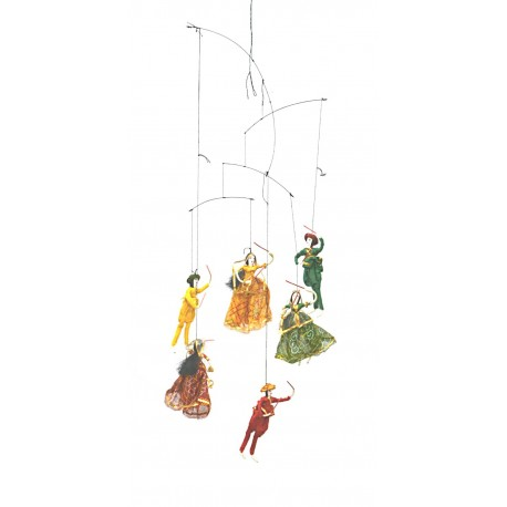 Babla Hanging Puppet Set of 6