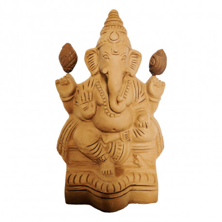Eco Friendly Plantable Seed Ganesha Idol
