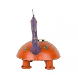 Painted Camel Shape T Light Holder