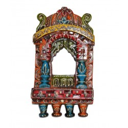 Wooden Jharoka Key Holder