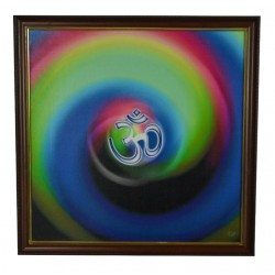 Om Canvas painting Print