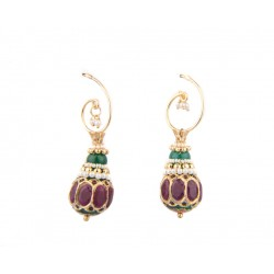 Clip On Ethnic Earring