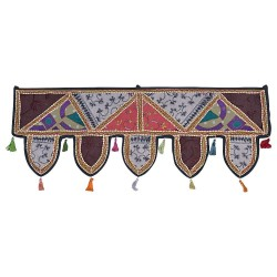 Rajasthani Mirror Work Door Hanging Toran