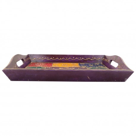 Decorative Wooden Painted Tray