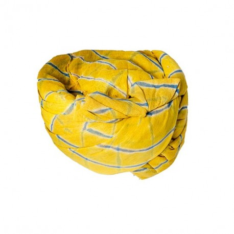 Yellow Lehriya Safa