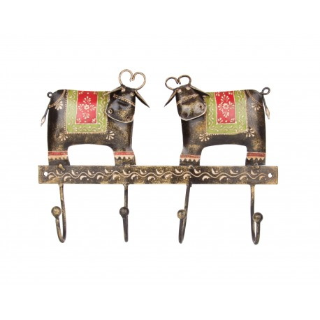 Cow Design Key Holder