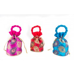 Set of Three Ethnic Potli Bag