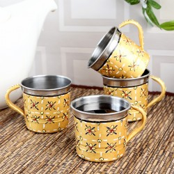 KAUSHALAM TEA CUPS SET OF 4